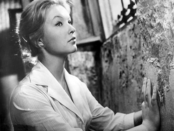 "Movie ""The Verdict""\La sentence directed by Jean Valere. 1959. France. In the picture: Marina Vlady."