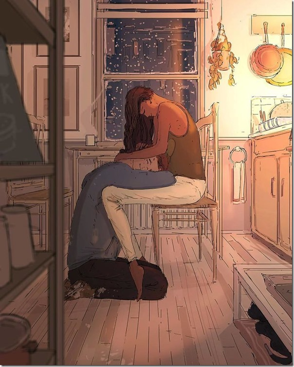 «Р›СЋР±РѕРІСЊ всегда скрыта РІ мелочах»: душевные иллюстрации семейной жизни