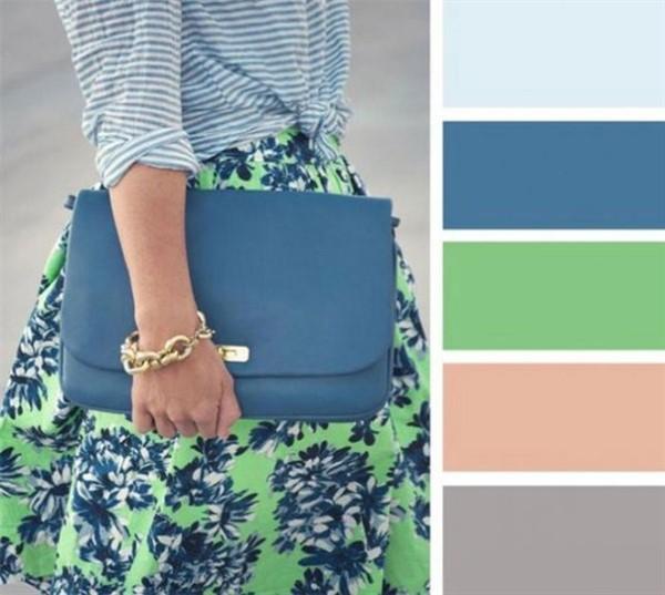 35 лучших сочетаний цветов в одежде — потрясающая подборка-шпаргалка!