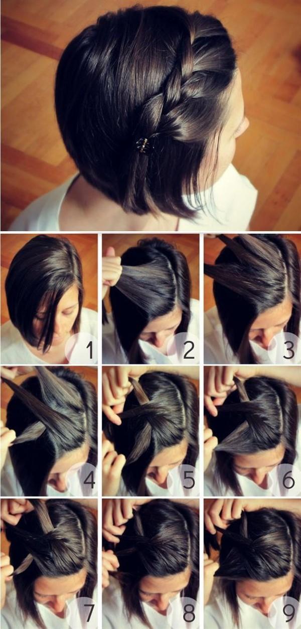 33 стильные идеи укладки коротких волос
