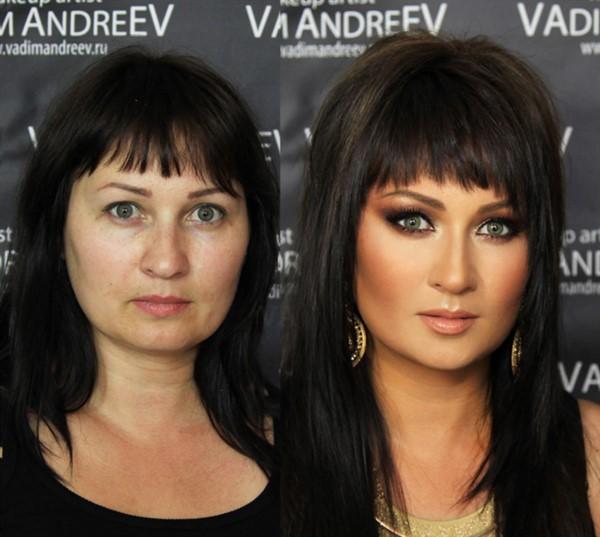 Идеальные? А теперь взгляните на них без макияжа