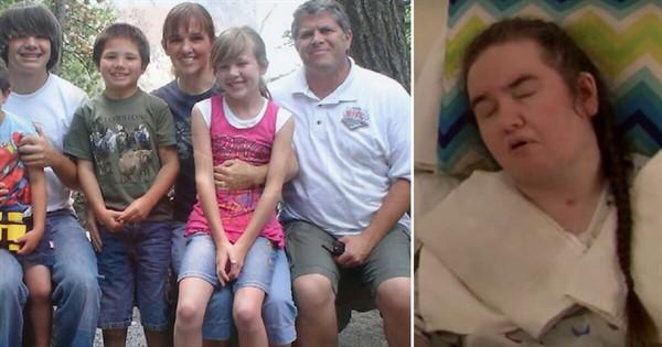 Женщина впала в кому, оставив 6-х детей. Спустя несколько лет раздался стук в дверь. Муж обомлел когда открыл ее