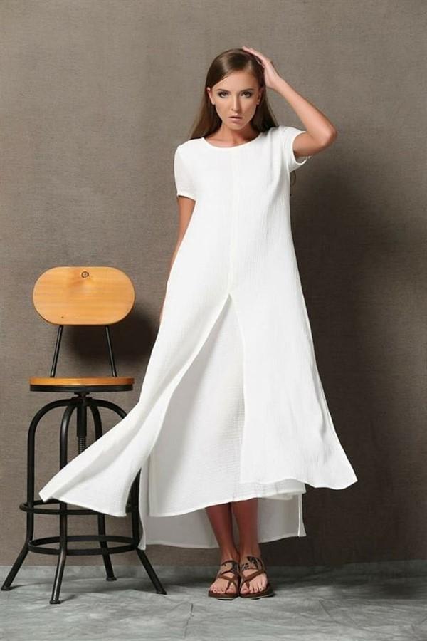 Белая одежда в стиле Бохо — �деальный вариант для жаркого лета