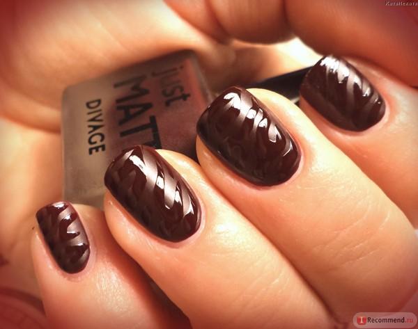 Шоколадный маникюр интересно, безумно ярко и стильно, как повседневно, так и в праздники!