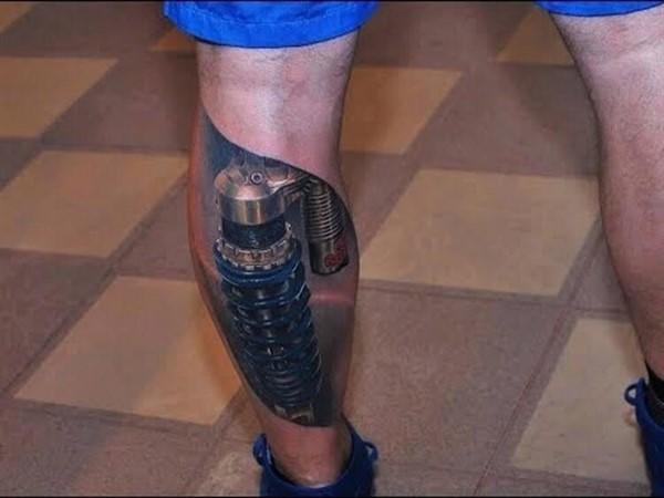 Потрясающе реалистичные 3D-татуировки, от которых вы будет в восторге!