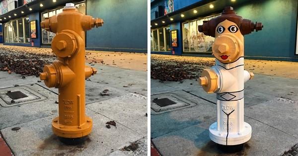 Этого парня давно ищет полиция, но безуспешно, поэтому улицы Нью-Йорка продолжают пополнять новые арт-объекты