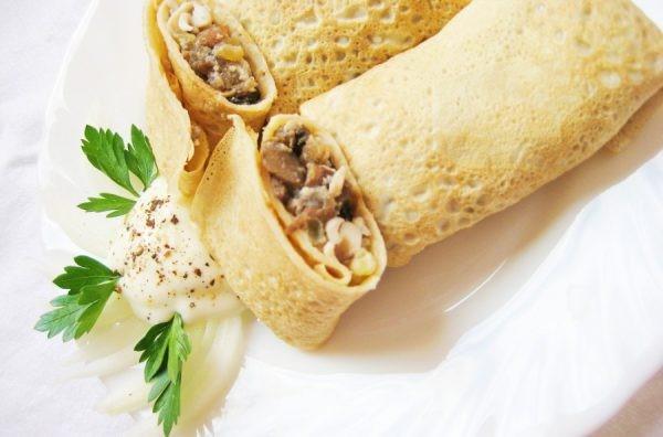 20 Самых вкусных начинок для блинчиков
